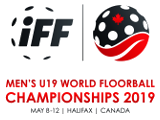 Logo Men´s U19 World Floorball Championship 2019