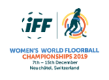 Logo Woman´s World Floorball Championship 2019